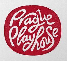 Typeverything.com Prague Playhouse logo by... - Typeverything #handmade #red #typo