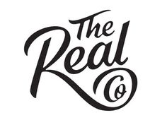 The Real Co #logotype #lettering #branding #typography