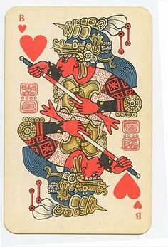 FFFFOUND! | English Russia » The Soviet Mayan Playing Cards #joker