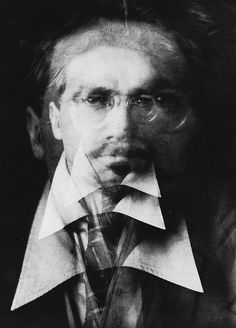 All sizes | Vortograph of Ezra Pound, by Alvin Langdon Coburn c.1916 | Flickr - Photo Sharing! #ezra #alvin #coburn #pound #langdon