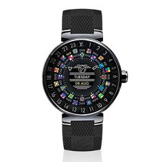 Louis Vuitton Launches Its First Smartwatch #LVConnected