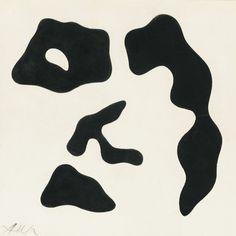 Découpages, 1961-Jean Arp