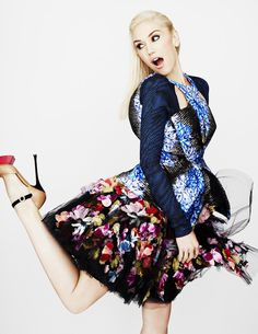Gwen Stefani by Matt Irwin for UK Elle #fashion