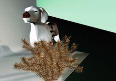 Piotr Buczkowski | Foragepress.com #render #cgi #surreal #animal