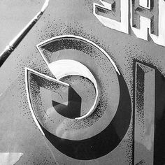 Detail of Lettering by Georgia Hill #lettering #georgia #hill #type #stipple