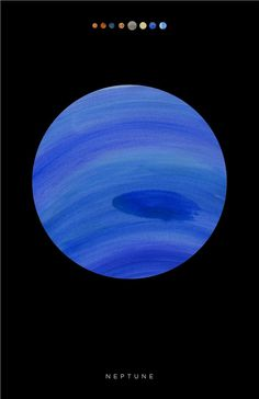 tumblr_m710ogCag31r95agto1_1280.jpg (792×1224) #poster #paint #texture #planet #neptune #outer space