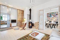 Kamin höjer mysfaktorn #interior #design #stockholm #decoration