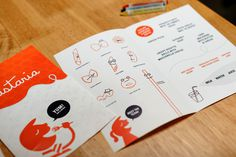 Pastaria St. Louis Kids Menu #design #graphic #identity