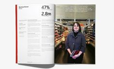 All sizes   Wates Annual Report (3)   Flickr - Photo Sharing! #print #design #annual report