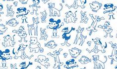 #illustration, #disney, #handdrawn, #characters
