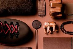 Things Organized Neatly #wood #brown