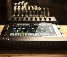 Mackie iPad Controlled Mixer #gadget