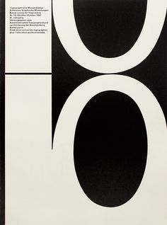 Typografische Monatsblätter | Cover from 1962 issue 10 | André Gürtler & Bruno Pfäffli
