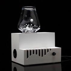 Pop-Up Bass by Daniela Mata #minimalist #design #speaker #minimalism