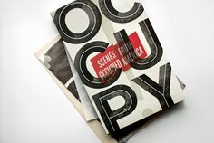 Kelli Anderson: OCCUPY! #type
