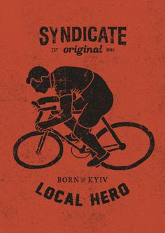Local Hero #sndct #fixed #orka #gear #illustration #original #poster #syndicate #abo