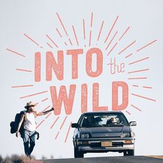 Into The Wild #type #handlettering #typography