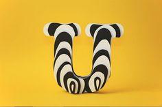 Paper Letters | Fubiz™ #typography