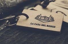 #wood #logo #key #house