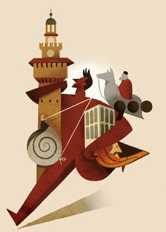dc0c64ed04a59547c76a00c7ab5bfb0c.jpg (Obrazek JPEG, 600x840 pikseli) #guasco #campaign #press #illustration #riccardo #milan