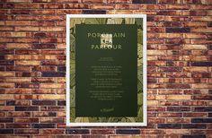 #WeLoveNoise #PorcelainTeaParlour #poster #poem