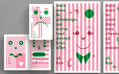 Designer of the week 14/04/2014Pointbarre | http://pointbarre.caPointbarre is an independent, Montreal based design collective, fou #illustration #design #typography