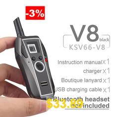KSUN #KSV66-V8 #Walkie-Talkie #Mini-Miniature #Civilian #Small #Wireless #Intercom #Walkie #Talkie