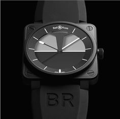 BR 01 Horizon Watch by Bell & Ross #tech #flow #gadget #gift #ideas #cool