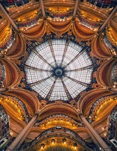 Galeries Lafayette | Flickr - Photo Sharing! #design #architecture #art