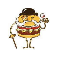 La Res on Behance #voltio #res #burger