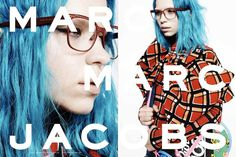 Marc by Marc Jacobs F / W 2014 by David Sims [Campaign] #fashion #photography #inspiration #typography
