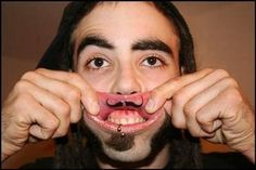 Tattooing is Their Life: Painfull Inside Lip Tattooing #tattoo #lips #moustache