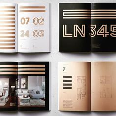 Brochure para proyecto inmobiliario, LN345 de C&J #brochure #design #graphicdesign #ln345 #designinspiration #mutantestudio #buildingidentit