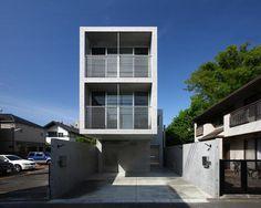 Dwelling of Minamikarasuyama by atelier HAKO architects #minimalist #house