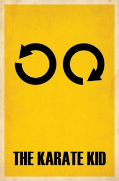 Minimalist Film Posters (part two) « BrickHut #movie #kid #matt #minimal #poster #karate #owen