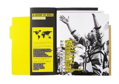 Amnesty International Hong Kong Annual Report 2010 on the Behance Network #magazine #yellow