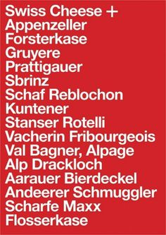 SWISS_CHEESE | Flickr - Photo Sharing! #swiss #print #design #graphic #typography