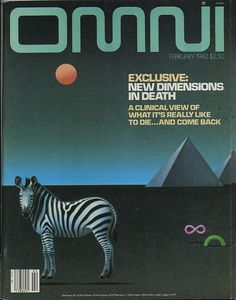 Flickriver: Photoset 'Omni Magazine' by Eric Carl #fiction #sci #fi #omni #zebra #80s #science #magazine