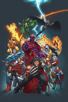 Official handbook of the Marvel Universe vol 4 11 created by Mark Brooks #comic #superheroes #marvel #artist #comics