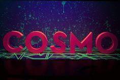 Cosmo on the Behance Network #type #handmade #3d #cosmo