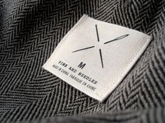 grayhood » Blog Archive » pins and needles redesign - dan gneiding graphic design #needles #fabric #apparel #pins #logo