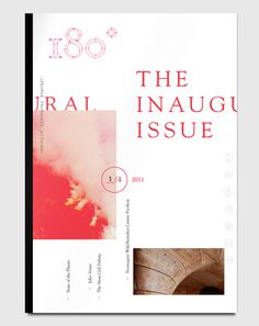 180° on Behance #print #magazine #typography