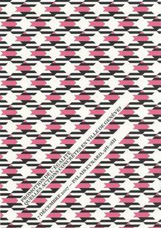 pattern | coqueterías #pink #print #magenta #poster