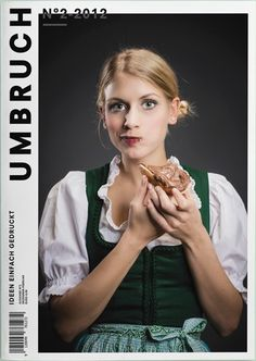 Umbruch (Austria, Autriche) #graphic design #magazine #editorial design #magazine cover