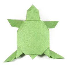 How to make an origami turtle (http://www.origami-make.org/howto-origami-turtle.php)