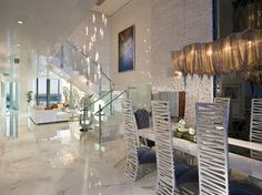 Pfuner Design, Oceanfront Penthouse – Contemporary