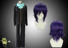 Noragami Yato Cosplay Costume Outfits + Wig #yato #noragami #buy #cosplay