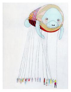 Float print by Jennifer Davis