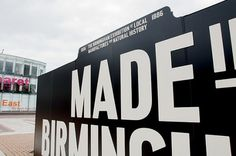 Made in Birmingham (Exhibition) on the Behance Network #museography