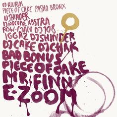 Music poster for wine bar Big Wine Freaks in Saint-Petersburg.